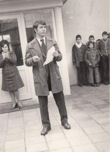 Реч на Петър Биволарски, кмет на Ръжево Конаре (1971-1979)